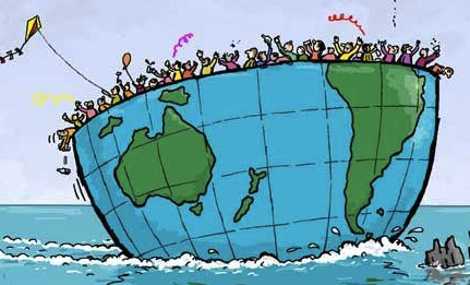 sobre población