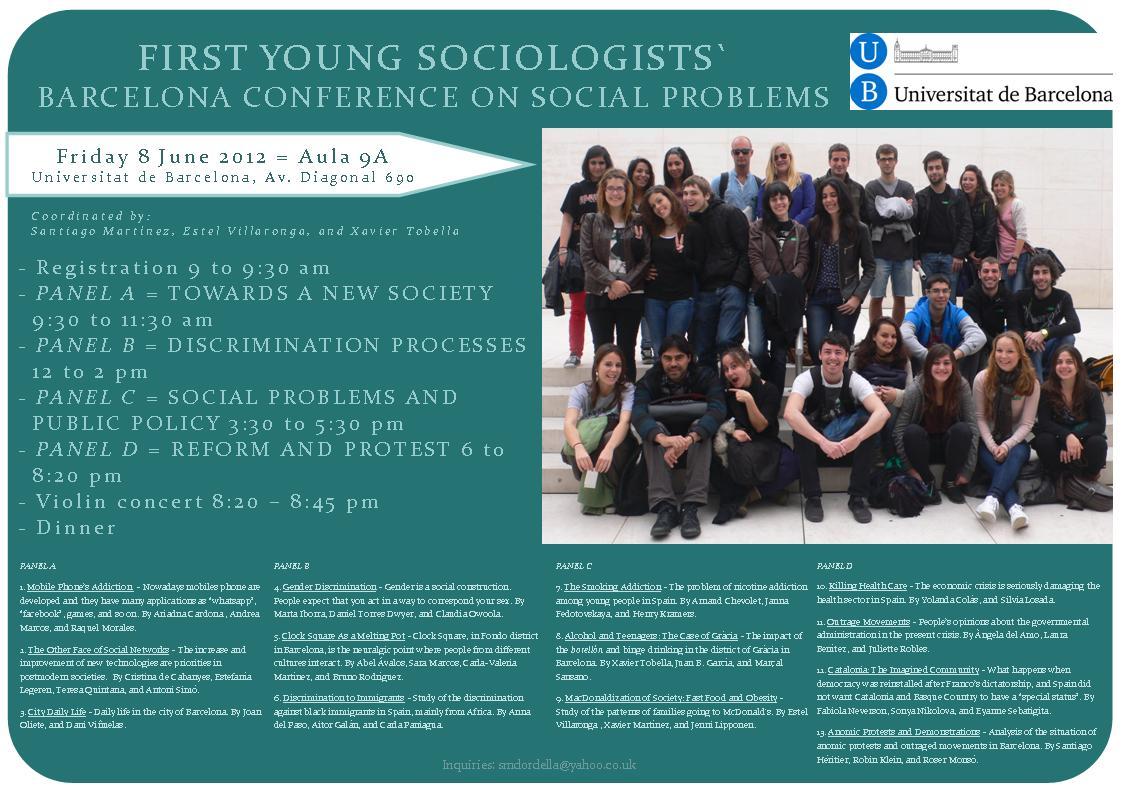 Conference Social Problemas