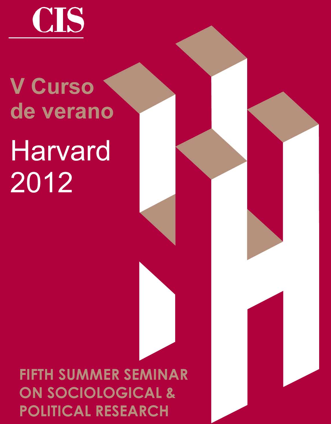 Fifth Summer Seminar on Sociological and Political Research (Harvard) Logo