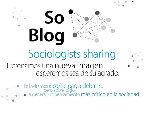 Nuevo diseño del Blog de Sociología