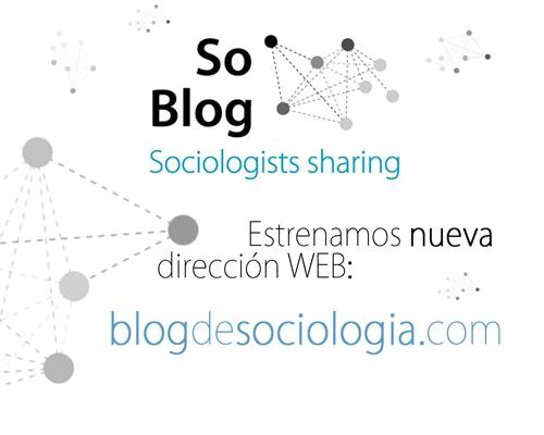 Nueva dirección WEB del Blog de Sociología
