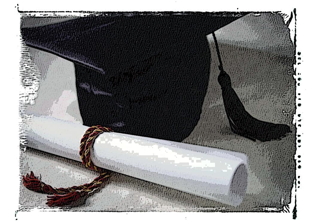 Birrete - Graduación educación superior (universidad)