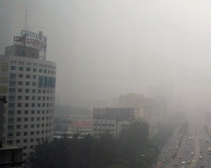 Air Pollution Reaches Serious Level In Beijing