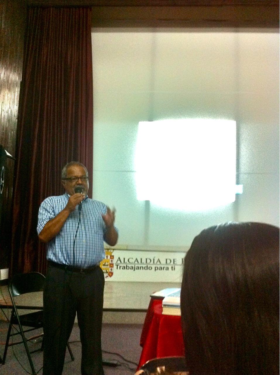 Tulio Hernández, seminario de Sociología